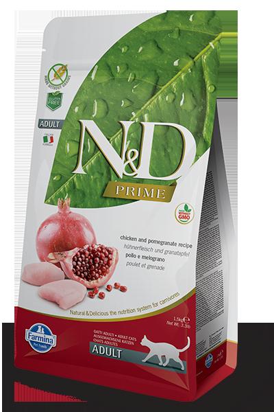 Farmina ND Grain Free Cat – Chicken n Pomegranate 1.5 Kg - Pet Food - Pet Store - Pet supplies