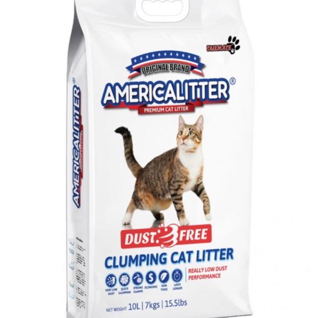 America Litter Dust Free 10L