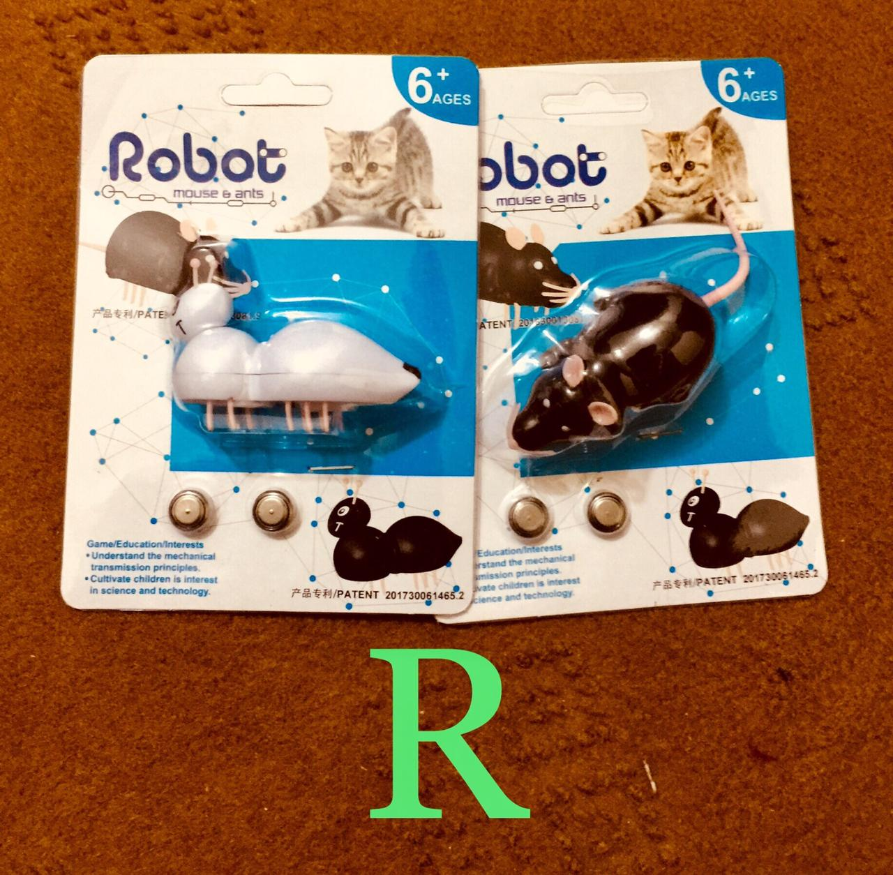 Mouse Robot Toy For Cats And Kittens - Pet Accessories - Pet Store - Pet supplies
