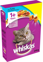 Whiskas Cat Food With Tuna 340g