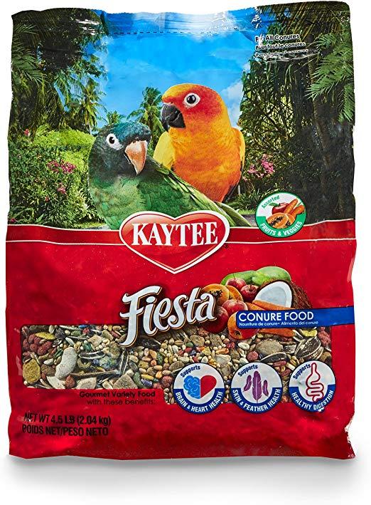 Kaytee Fiesta Conure Bird Food Parrot - 2 kg