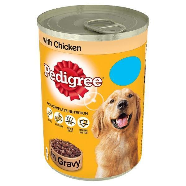 Pedigree Food Tin In Chicken 385g