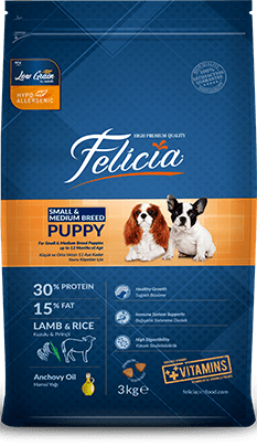 Felicia Puppy Dog Food
