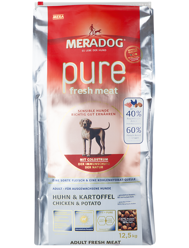 Mera Dog Pure Fresh Meat - 12.5 Kg