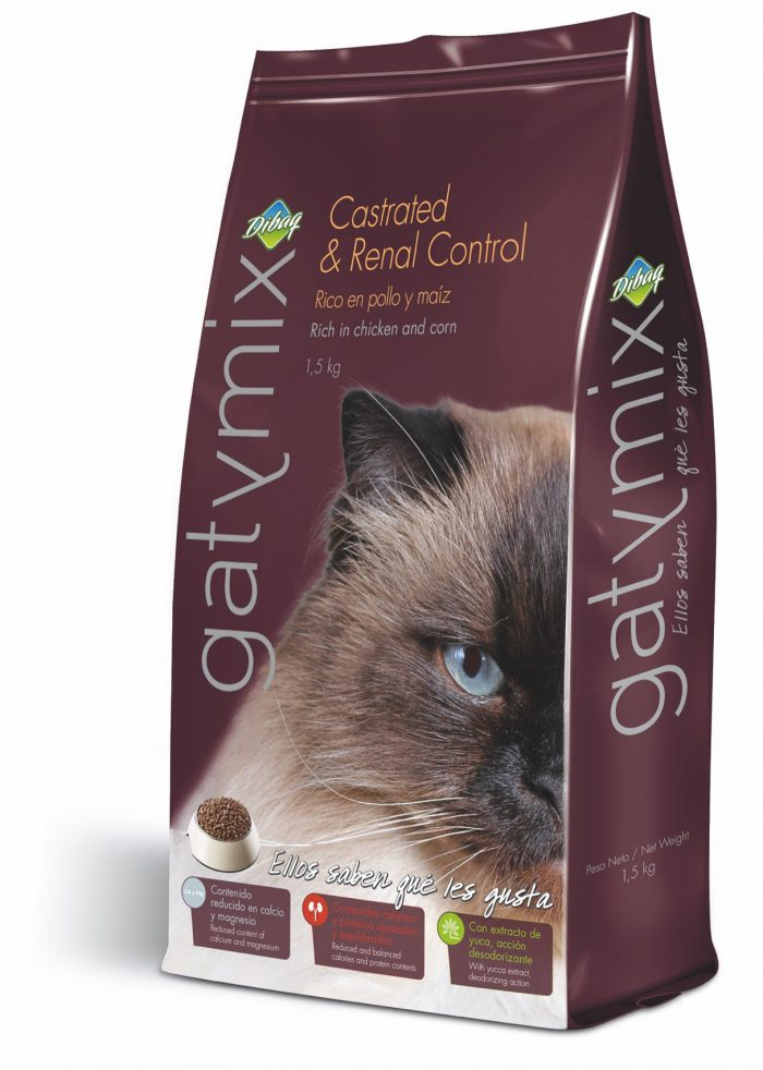 Gatymix Castrated & Renal 1.5 Kg - Pet Food - Pet Store - Pet supplies