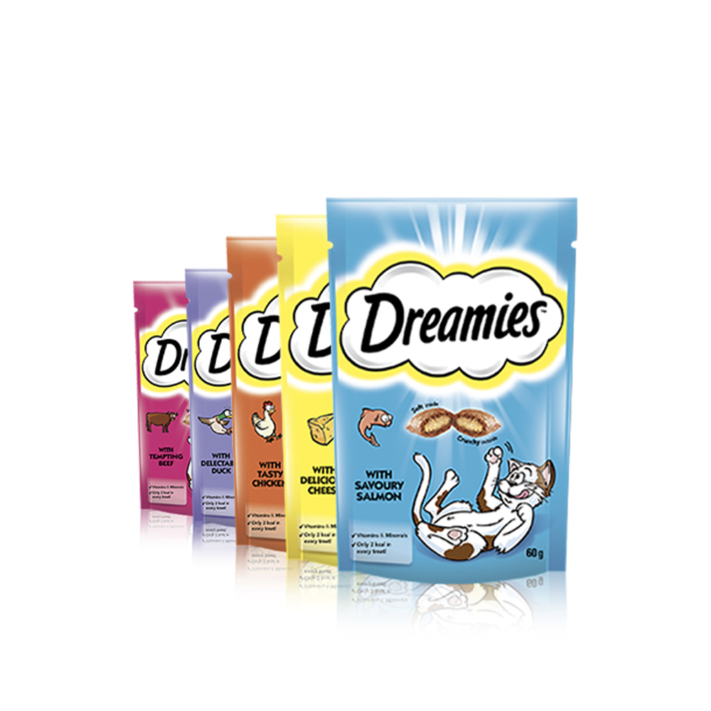 Dreamies for Cats - Pet Food - Pet Store - Pet supplies
