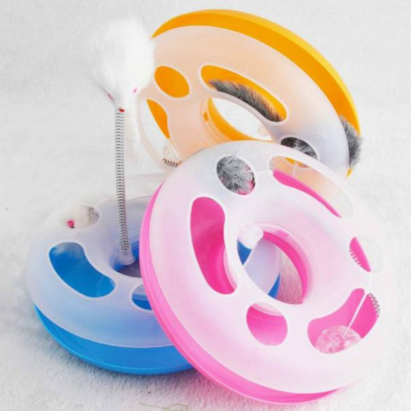 Happy Circle Cat Toy - Large - Pet Accessories - Pet Store - Pet supplies