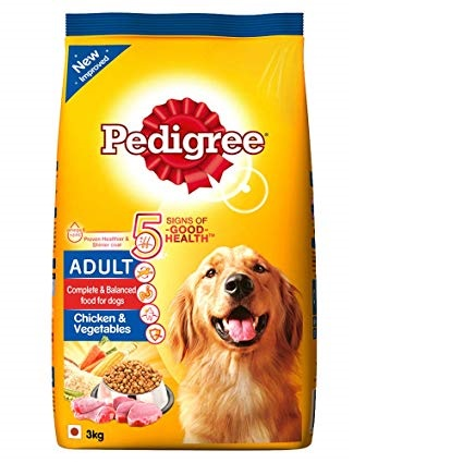 Pedigree Dog Food Adult Chicken & Vegetable - Pet Food - Pet Store - Pet supplies