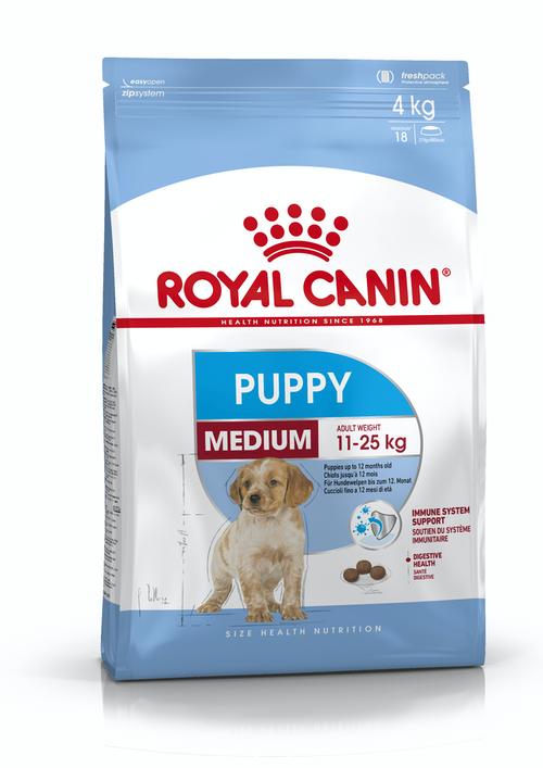 Royal Canin Medium Puppy 4Kg - Pet Food - Pet Store - Pet supplies