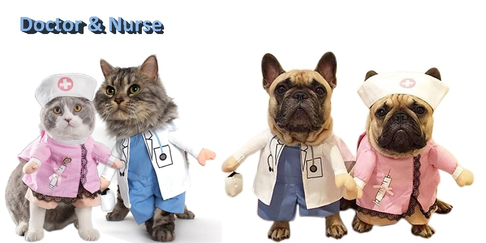 Funny Dog Cat Costumes Pet Clothing Halloween - Pet Accessories - Pet Store - Pet supplies