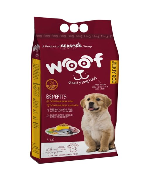 Woof Dog Food - Be Happy Pets