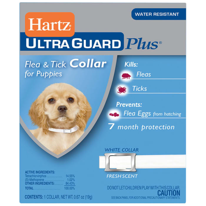Hartz Ultra Guard Plus Tick & Flea Control Collar Puppy Dog