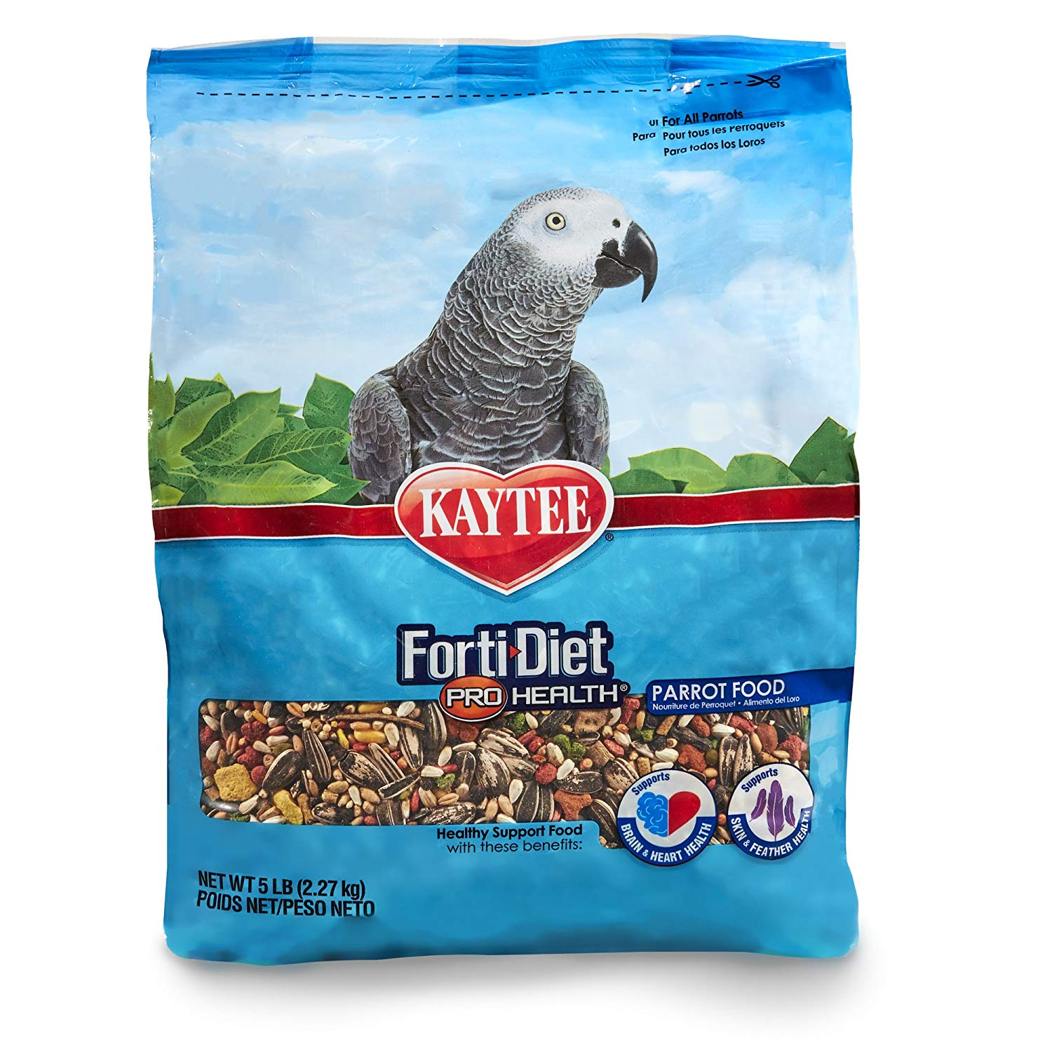 Kaytee Forti Diet Pro Health Parrot Food - 2 kg Bird Food