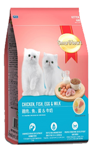 Smart Heart Kitten Cat Food