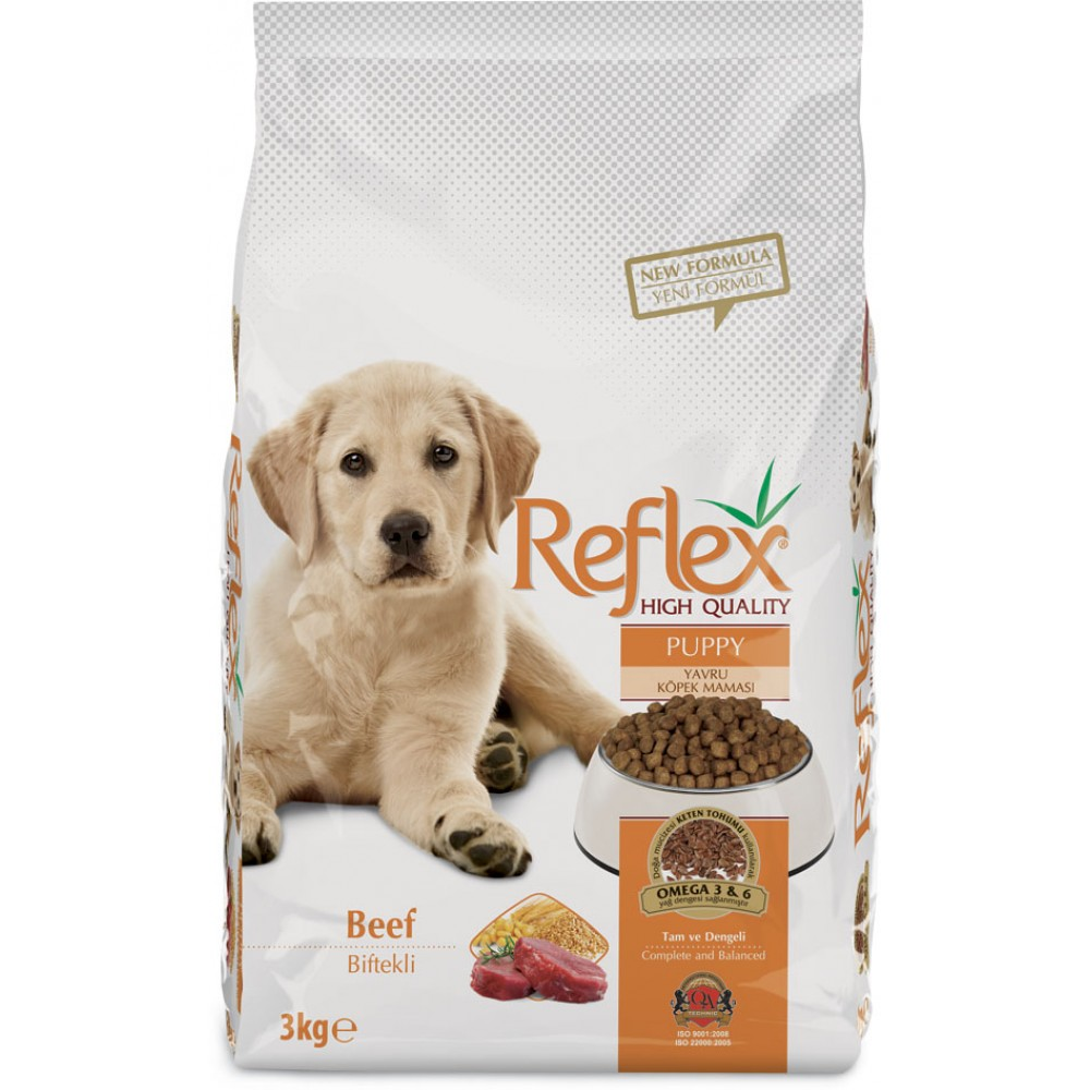 Reflex Puppy Beef Dog Food