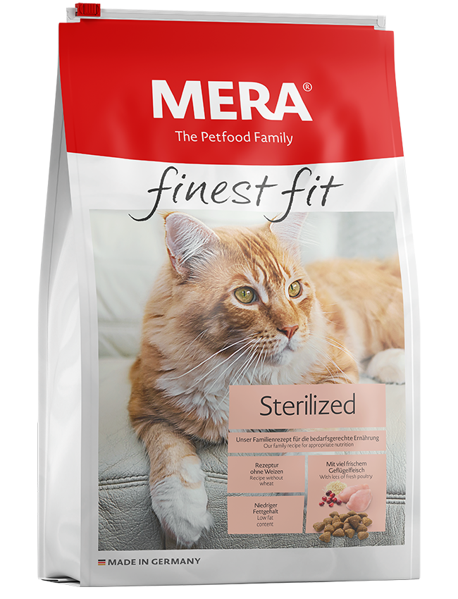 Mera Finest Fit Sterilized - Pet Food - Pet Store - Pet supplies