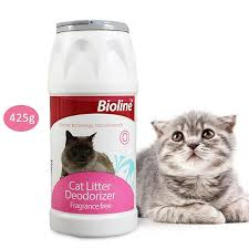 Bioline Cat Litter Deodorant Powder - Pet Accessories - Pet Store - Pet supplies