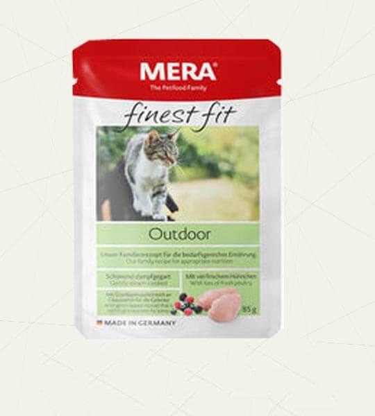 Mera Finest Fit Creamy bite ( Cat Snack ) 80g Outdoor - Pet Food - Pet Store - Pet supplies