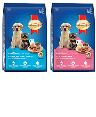 Smartheart Small Breed Puppy Food - 450 g