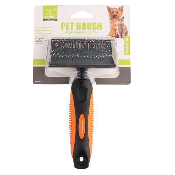 Nunbell Brush Steel - Pet Accessories - Pet Store - Pet supplies
