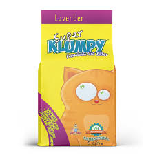 Klumpy Lavender Cat Litter - 5 Liter - Pet Accessories - Pet Store - Pet supplies