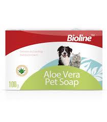 Bioline Aloe Pet Soap - 100g - Pet Accessories - Pet Store - Pet supplies