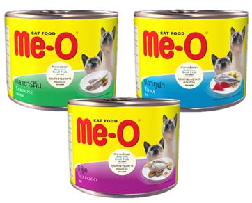 Me-O tin Food Serdine / Seafood / Tuna - Pet Food - Pet Store - Pet supplies