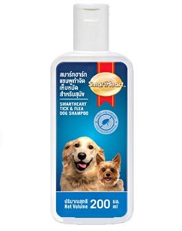 Smartheart Shampoo Tick And Flea - 200 ml Dog Cat - Pet Accessories - Pet Store - Pet supplies