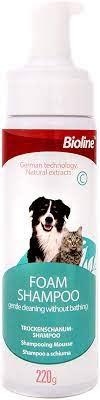 Bioline Foam Shampoo - Pet Accessories - Pet Store - Pet supplies