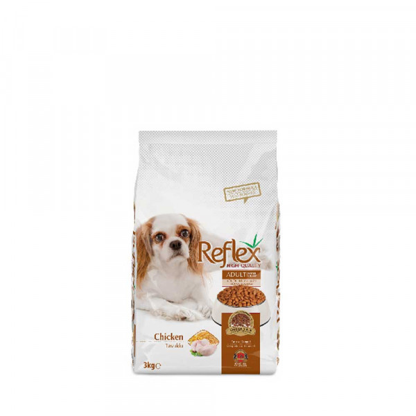 Reflex Adult Dog Food Small Breed Chicken – 3 Kg - Pet Food - Pet Store - Pet supplies