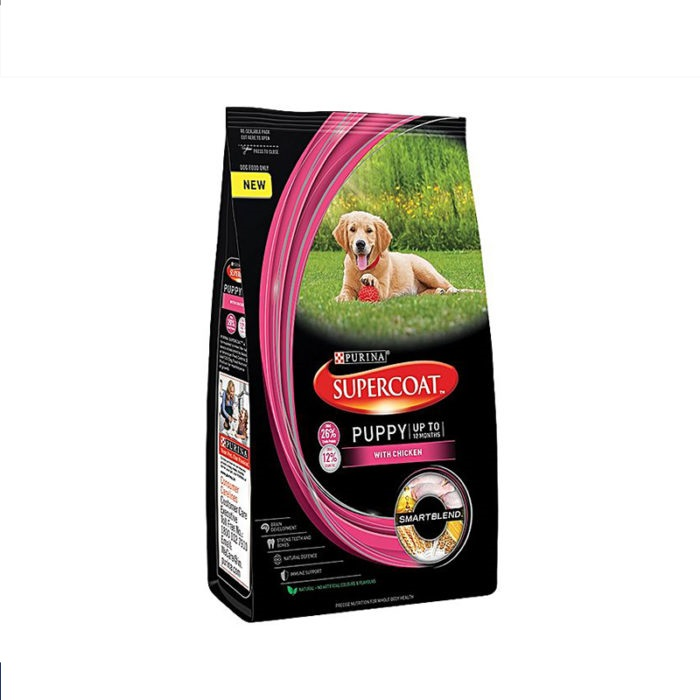 Purina Dog Food Supercoat Puppy Chicken