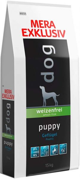 Mera Dog Exclusive Puppy Food Poultry - Pet Food - Pet Store - Pet supplies