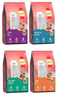 Smartheart Cat Food Tuna Chicken / Tuna Shrimp / Seafood - Pet Food - Pet Store - Pet supplies