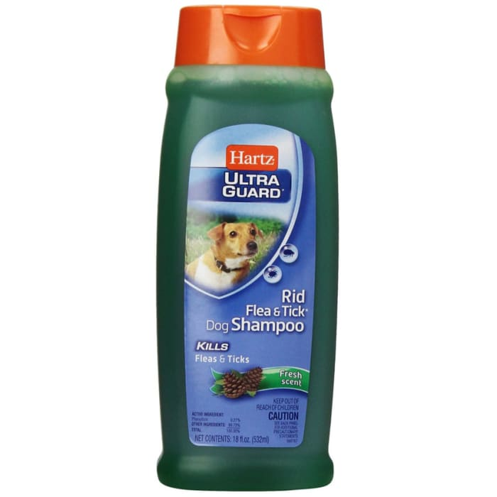 Hartz Ultra Guard Rid Flea & Tick Dog Shampoo Fresh Scent