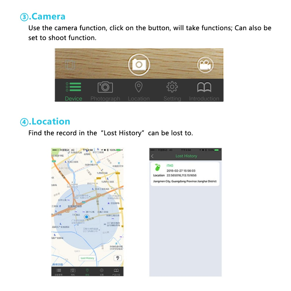 GPS Tracker Mini Anti-Lost Waterproof Bluetooth Locator Tracer For Pet Dog Cat Kids Car - Pet Accessories - Pet Store - Pet supplies
