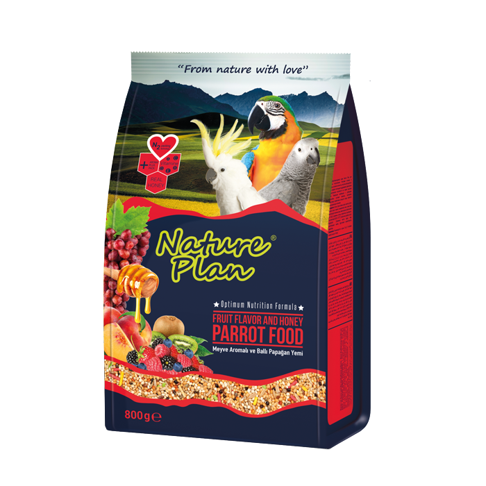 Nature Plan Parrot Food - 800 G