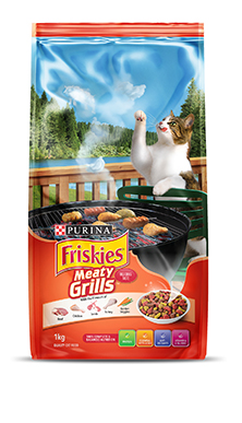 Friskies Meaty Grills Cat Food
