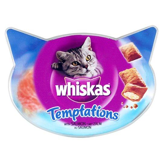 Whiskas Temptations Salmon 60G - Pet Food - Pet Store - Pet supplies