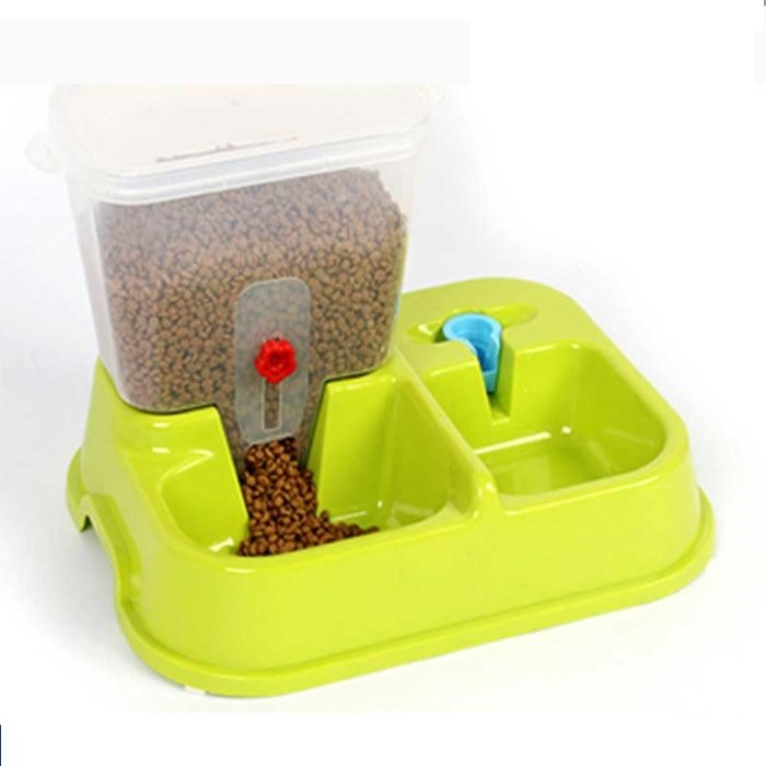 Food Dispenser For Dog Cat Puppy Kitten