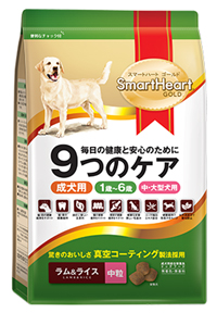 Smarthear Gold Dog Food Holistic / Fit And Firm / Lamb And Rice