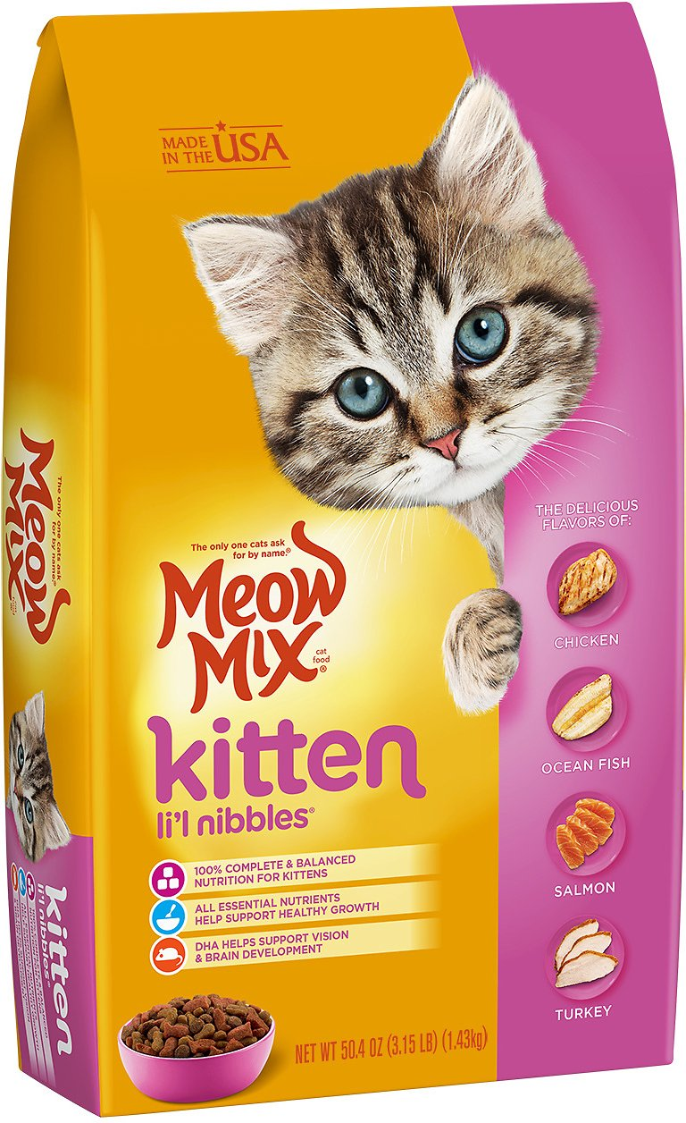 Meow Mix Kitten Li l Nibbles - Pet Food - Pet Store - Pet supplies