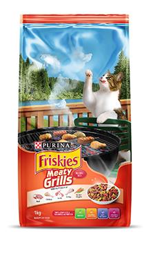 Friskies Meaty Grills Cat Food - Pet Food - Pet Store - Pet supplies