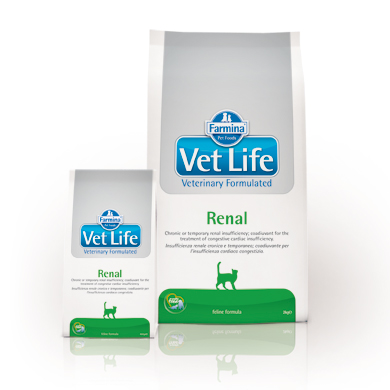 Farmina Vet Life Renal for Cats – 2 kg
