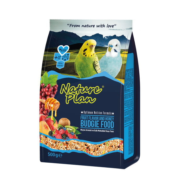 Nature Plan Honey Budgie Food