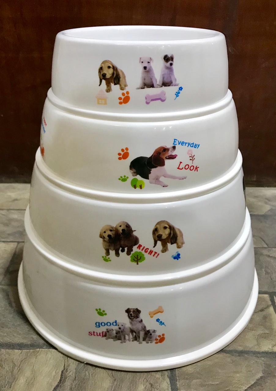 Bowl Round For Cats And Dogs