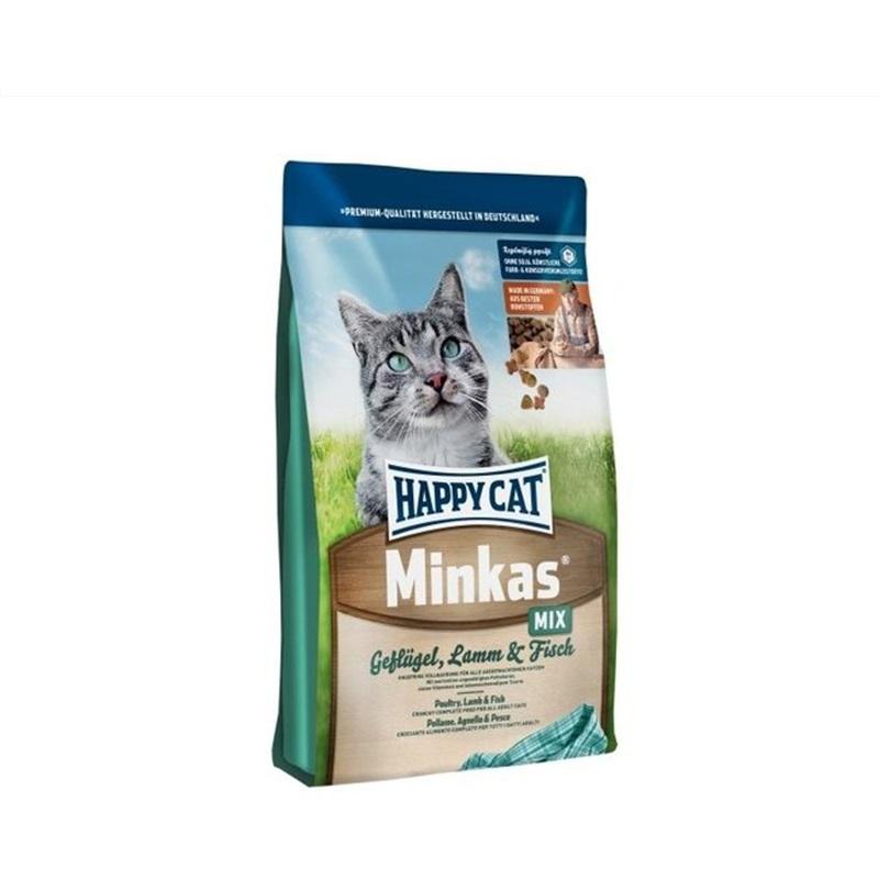 Happy Cat Food – Minkas Mix 1.5KG - Pet Food - Pet Store - Pet supplies