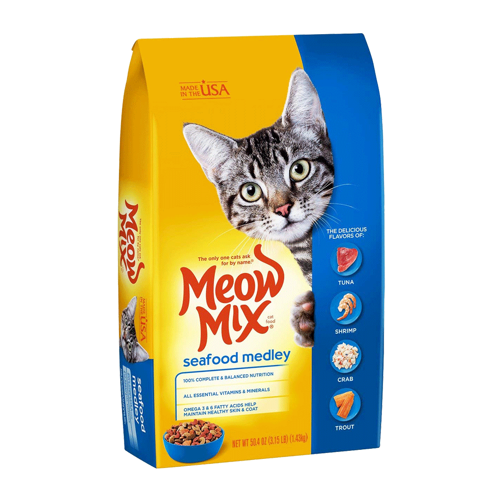 Meow Mix Cat Food Original Choice 2.86 kg