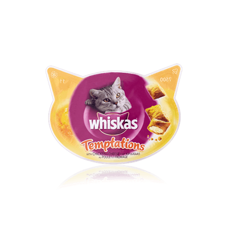 Whiskas Temptation in Beef - 60 G