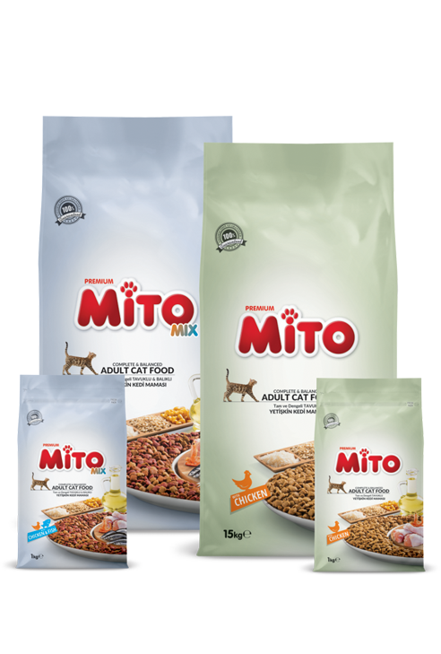 Mito Adult Cat Food – 15 KG