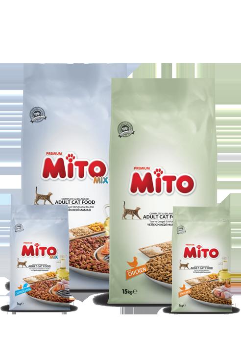Mito Adult Cat Food – 15 KG